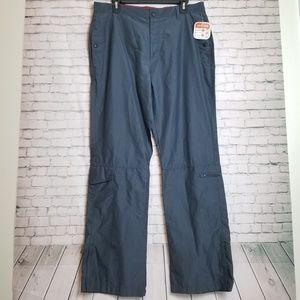 *NWT!* slate grey utility cargo hiking pants